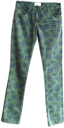 3.1 Phillip Lim Green Denim - Jeans Jeans for Women