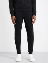 Michael Kors Logo-embroidered cotton-jersey jogging bottoms