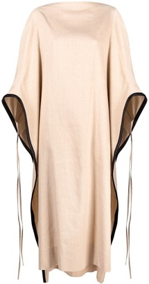 Ambush Linen Cape Dress