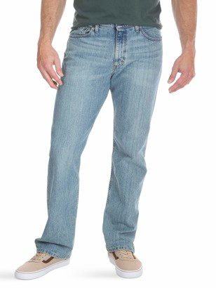 Wrangler Authentics Mens Big & Tall Relaxed Fit Comfort Flex Waist Jean