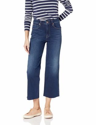 Ella Moss Women's Cropped Wide Leg Denim