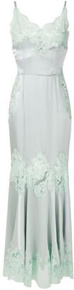 Dolce & Gabbana lace detail long slip dress