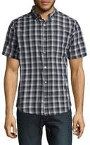 Howe Checked Cutton Casual Button-Down Shirt