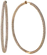 Effy Jewelry 14K Rose Gold Diamond Hoop Earrings, 1.91 TCW