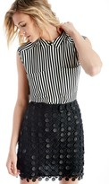 Sole Society Stripe Two Pocket Blouse