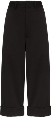 Y-3 Cropped Tailored Trousers