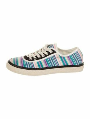 Marni Striped Sneakers Blue