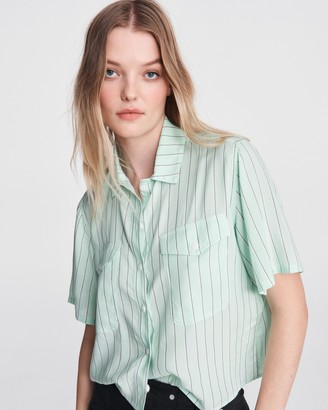Rag & Bone Joon rayon shirt