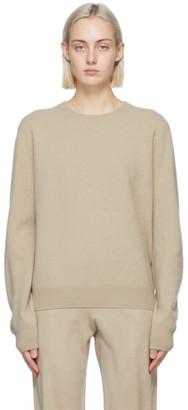 Frenckenberger Beige Cashmere Mini Sweater