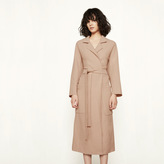 Maje Long oversized coat