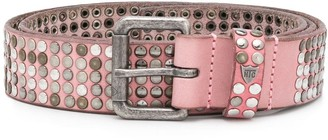 HTC Los Angeles studded logo belt