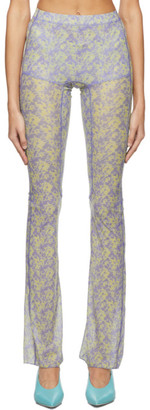 Charlotte Knowles Purple Halcyon Trousers