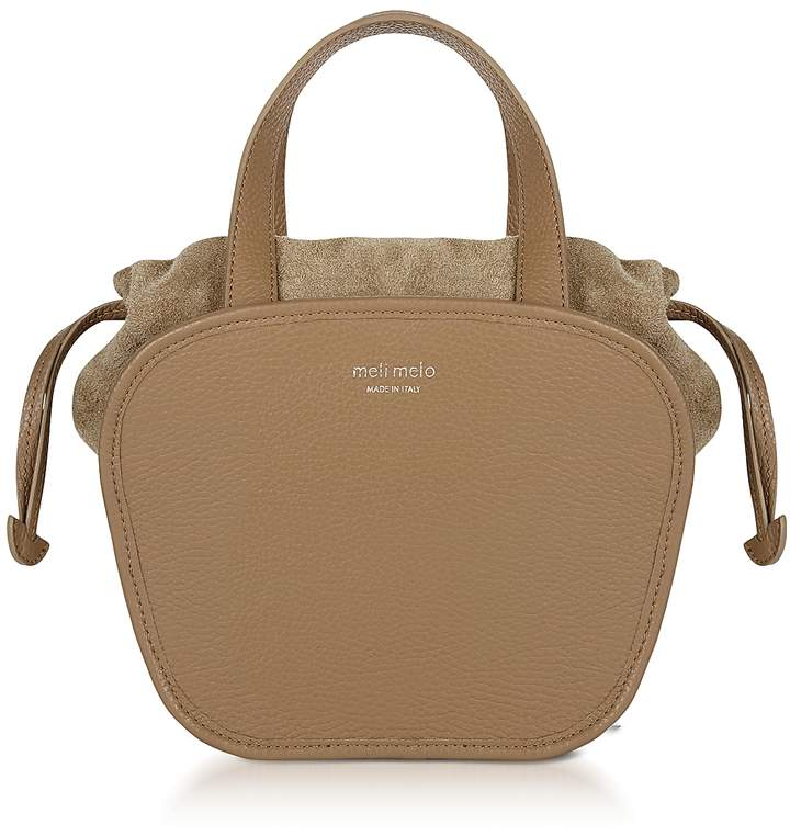 Meli-Melo Rosetta Light Tan Leather Crossbody Bag