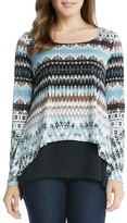 Karen Kane Layered Look Top