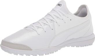 Puma Unisex King 2 Soccer Shoe White White White Numeric_5 US Men