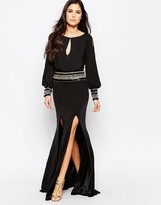 Forever Unique Mel Maxi Dress With Long Sleeves