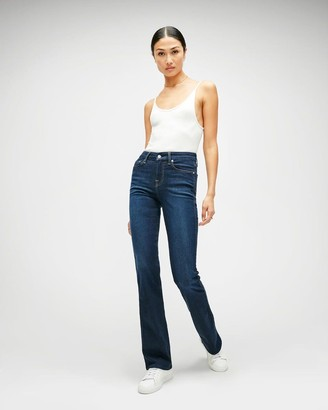7 For All Mankind Slim Illusion Kimmie Bootcut in Tried and True