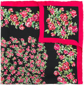 Dolce & Gabbana rose print scarf - women - Silk - One Size