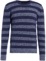 Roberto Collina Striped Jumper Blue