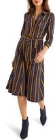 Boden Susannah Long Sleeve Jersey Shirtdress