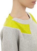 VPL Sweatshirt with Coated Panels