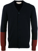 Marni gradient sleeve cardigan - men - Cotton - 46