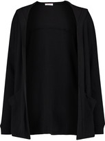 Splendid Hooded Waffle-knit stretch Supima cotton and Micro Modal-blend cardigan