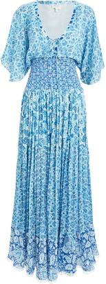 HEMANT AND NANDITA Floral Maxi Dress