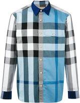 Burberry checked shirt - men - Cotton - M