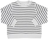 Molo Kids Dennis Striped Cotton Terry Sweater