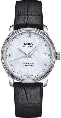 MIDO Women's Quartz Watch with Silver/M0272081610600