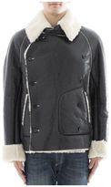 Maison Margiela Black Leather Jacket