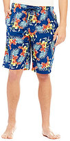 Tommy Bahama Woven Island Floral Tropical-Print Washed Pajama Shorts