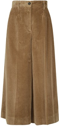 Dolce & Gabbana Wide Leg Ribbed Trousers