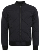 George Quilted Navy Bomber Jacket