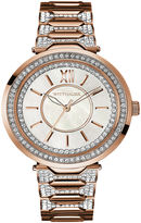 Wittnauer Womens Crystal-Accent Two-Tone Stainless Steel Bracelet Watch WN4025