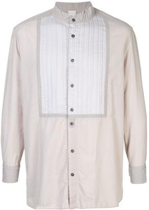 Carpe Diem mandarin collar shirt