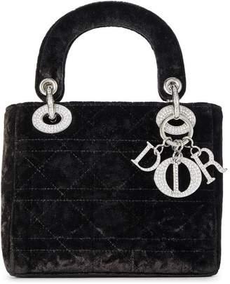 Christian Dior Black Velvet Lady Mini