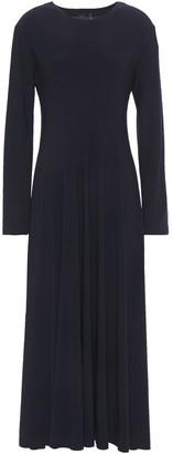 Norma Kamali Stretch-jersey Midi Dress