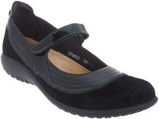 Naot Footwear Leather Adjustable Strap Mary Janes - Kirei