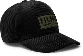 Filson Logo-Appliqued Cotton-Corduroy Baseball Cap