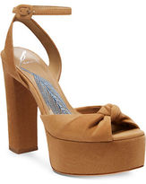 Brian Atwood Gabby Ankle-Strap Sandals