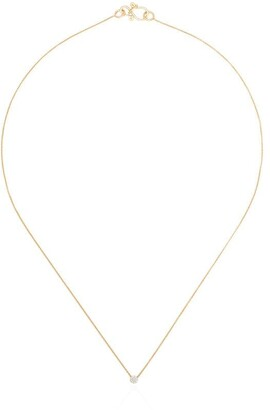 Sophie Bille Brahe 18kt Yellow Gold Diamond Pendant Necklace