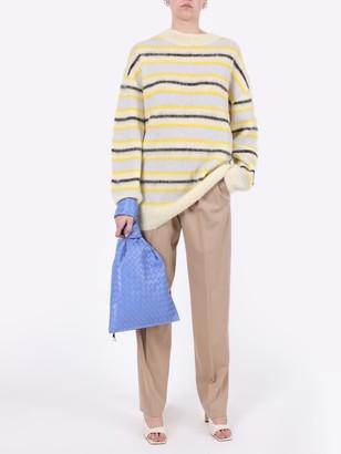 Acne Studios Striped Alpaca Wool Sweater