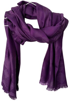 Givenchy Purple Silk Scarves