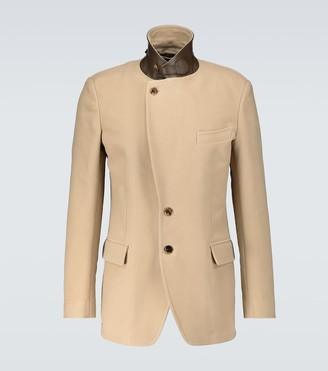 Tom Ford Cotton moleskin sartorial jacket