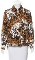 Louis Vuitton Printed Silk Blouse