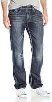 Buffalo David Bitton Men's Six Slim Straight Leg Fashion Denim Jean