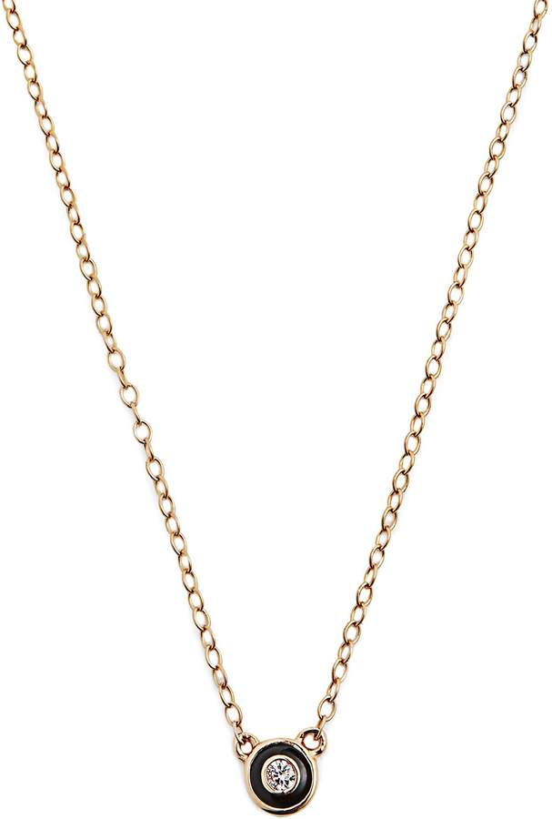 Alison Lou Enamel & yellow-gold Salt necklace
