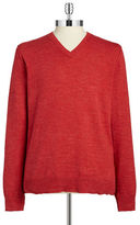 Lucky Brand V-Neck Cotton Sweater